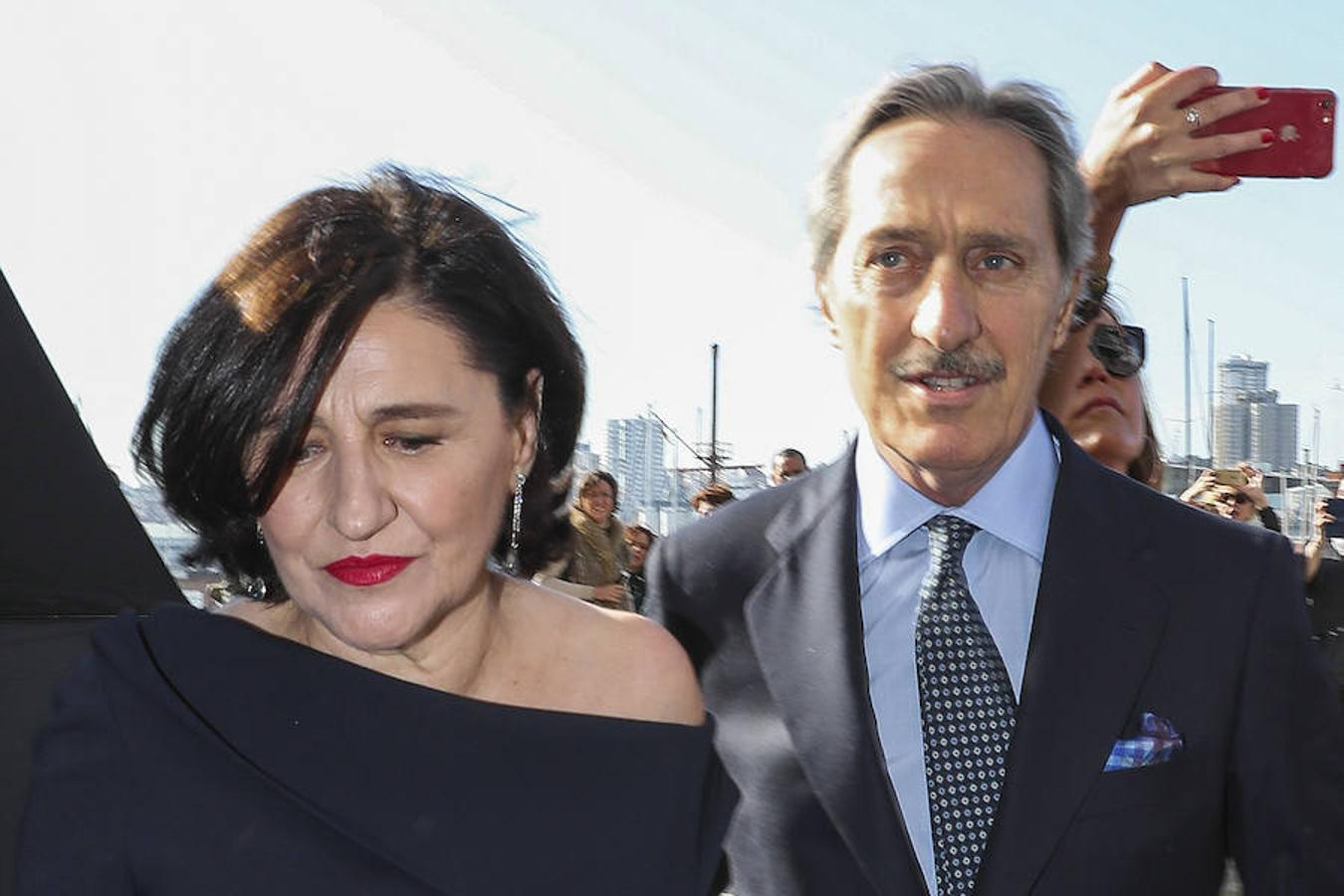 Los padres del novio, Carmen Echevarría y Roberto Torretta