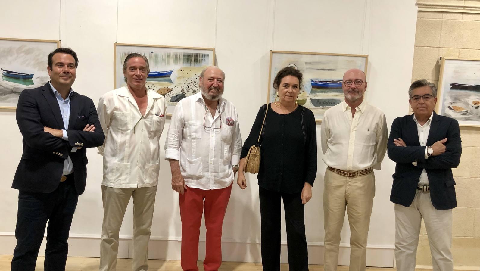 Ivan Llanza, David Maldonado, Rafel Terry, Magdalena Bachiller, Humberto Ybarra y Antonio Abad