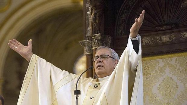 El arzobispo de Granada, Javier Martínez.