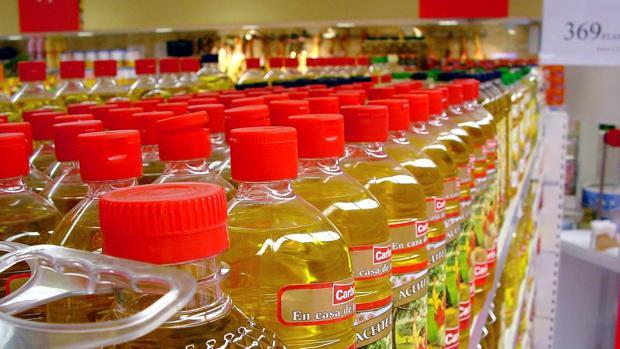 Línea de envasado de aceite de orujo