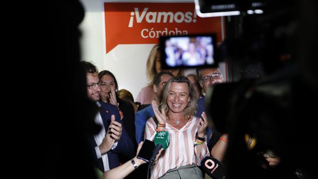 La candidata de Cs a la Alcaldía de Córdoba, Isabel Albás