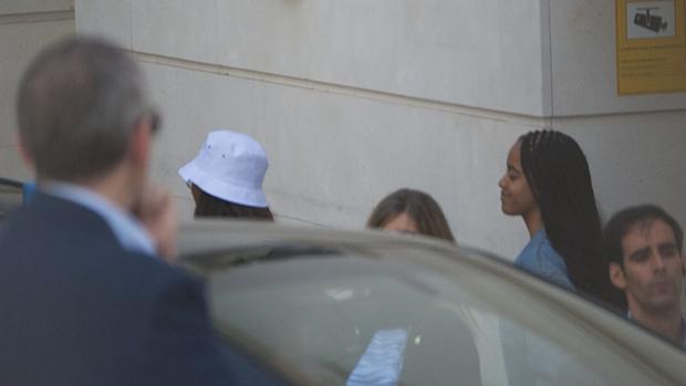 Las hijas del expresidente Obama también han viajado a Málaga