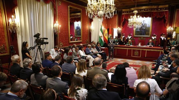 Pleno de constitución del Ayuntamiento de Granada