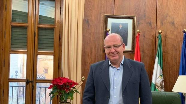 Javier Márquez, portavoz del PP, durante su etapa como alcalde de Jaén