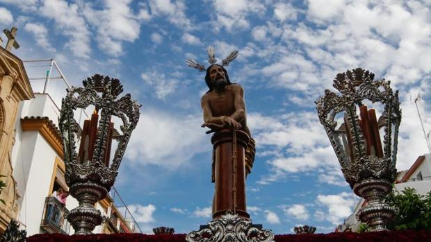 El Señor Amarrado a la Columna en la Semana Santa de 2019