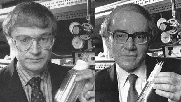 Stanley Pons y Martin Fleischmann