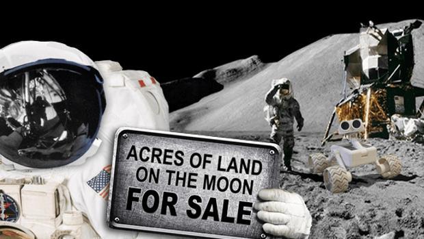 La Embajada Lunar vende 1 acre de tierra en la Luna (4.000 metros cuadrados) por 25 dólares