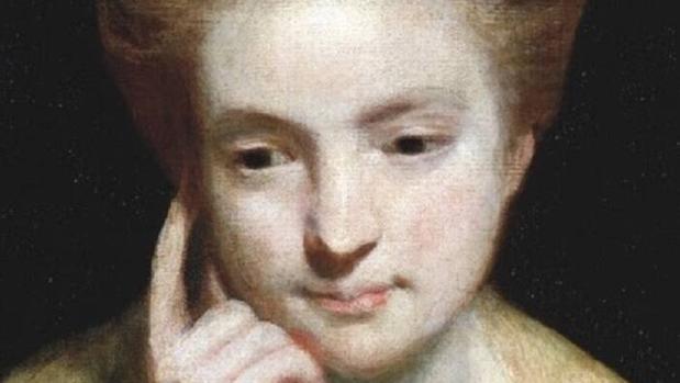 «Estudio del retrato de una mujer joven», del pintor Joshua Reynolds. En ocasiones, se considera que representa a la escritora feminista Mary Astell