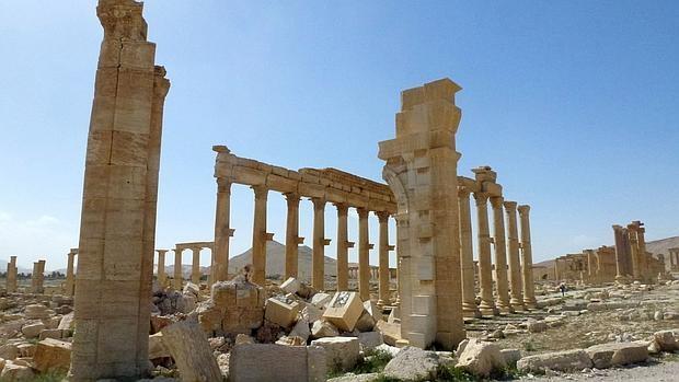 El Arco de Triunfo de Palmira