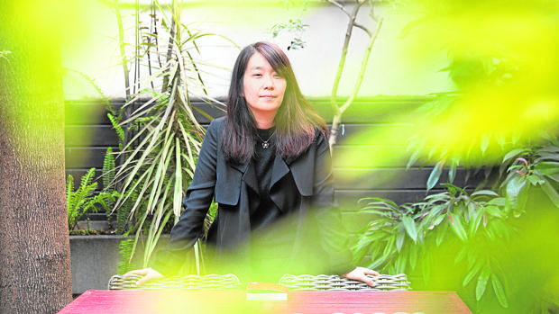 La escritora surcoreana Han Kang