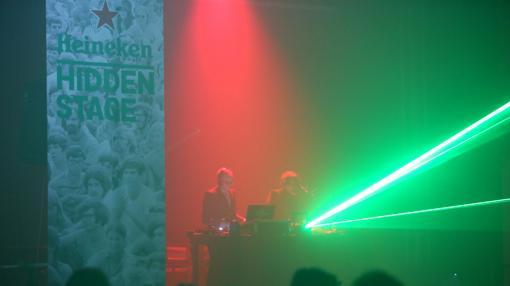 El Heineken Hidden Stage ofrece una total cercanía con los grupos