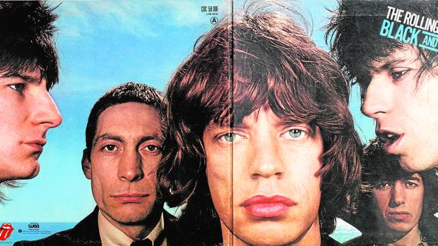 Cubierta de Robert Frank para «Black And Blue», de los Rolling Stones