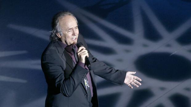 Joan Manuel Serrat, en un concierto celebrado en el FIBES de Sevilla