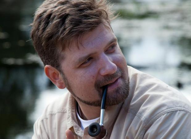 El escritor gallego Francisco Narla