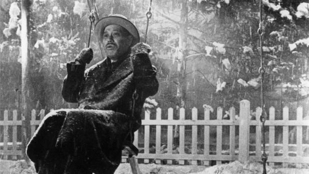 Una escena de «Vivir», de Akira Kurosawa