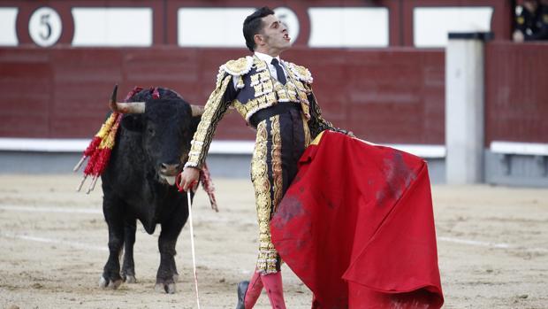 Alejandro Talavante, en Las Ventas