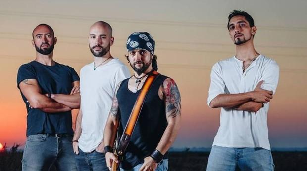El grupo sevillano Gritando en Silencio, en una foto promocional