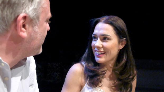 Eva Marciel y Juan Antonio Molina, en «Padres»