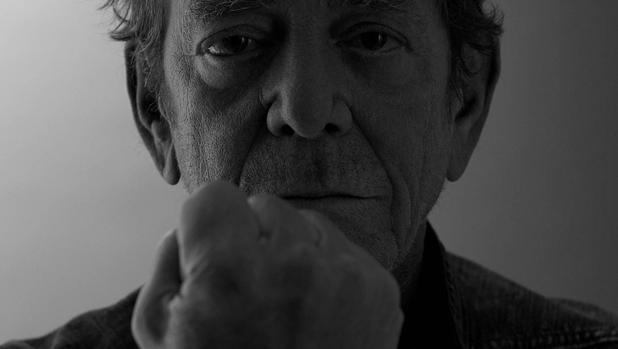 Detalle de la última foto de Lou Reed