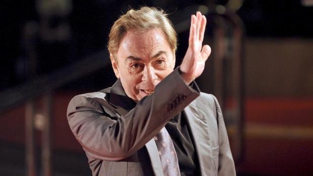 Andrew Lloyd Webber, en 2008, durante la gala de entrega de los Premios Brit