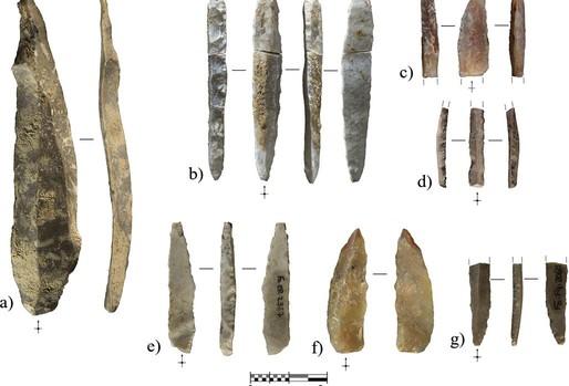 Alguna de las piezas recuperadas de la cueva