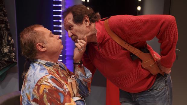 Carles Castillo y Juan Gea, en «Por los pelos»