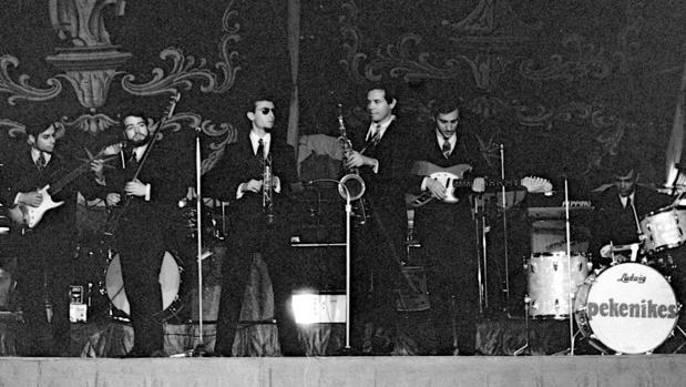 Los Pekenikes, en una actuación de 1967