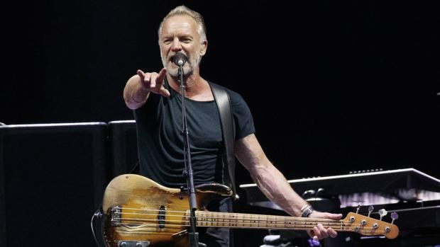 Sting, durante un concierto en Austria el pasado 4 de julio