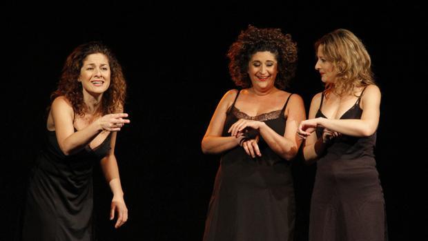 La niñas de Cádiz, en una de sus actuaciones.