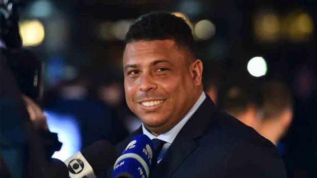 Ronaldo Nazario en un acto reciente