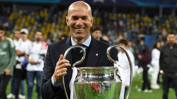 Zidane, con su tercera Champions como técnico