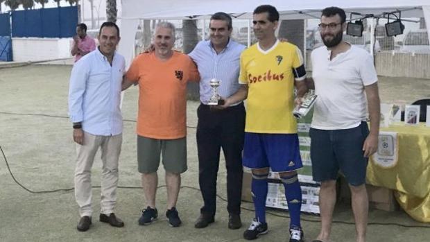 Ricardo Escobar en el VI Trofeo Carranza de Veteranos