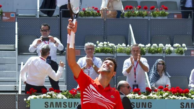 Djokovic es subcampeón del torfeo Mutua Madrid Open