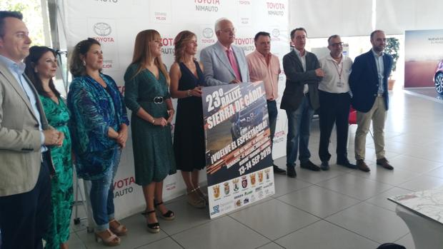 La presentación tuvo lugar en Nimauto, el concesionario oficial Toyota en Jerez de la Frontera.