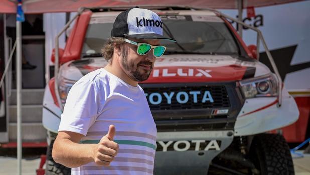 Alonso, en su anterior prueba, en Sudáfrica