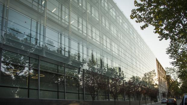 Nuevas oficinas de Amazon en la zona de Méndez álvaro en Madrid
