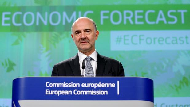 Pierre Moscovici, comisiario europeo de Economia y Asuntos Financieros