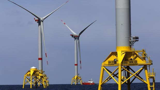 Parte de los 70 aerogeneradores empezaron a generar electricidad en diciembre