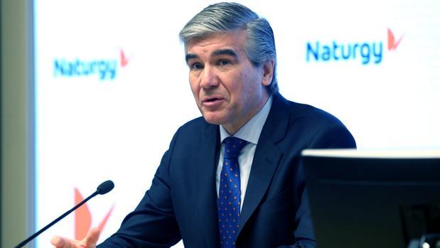 Francisco Reynés, hoy, en la presentación de resultados