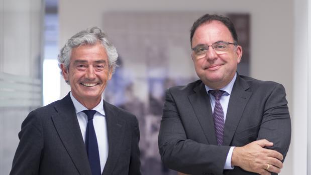 José María Pacheco y Jesús Vidal, presidente y CEO de Grupo Konecta