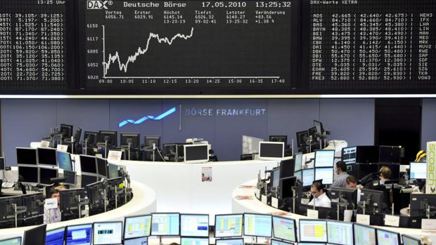 Vista del parqué de Fránfort, Alemania, en 2010