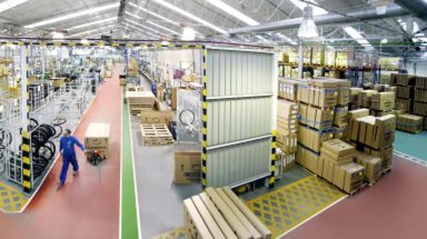 Fábrica de Orbea en Mallavia, en Vizcaya