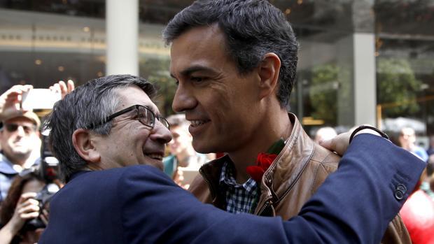 Patxi López y Pedro Sánchez, en una imagen de archivo