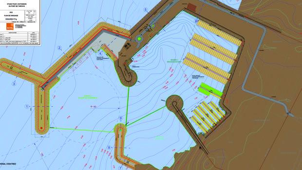 Proyecto del puerto de Tarfaya