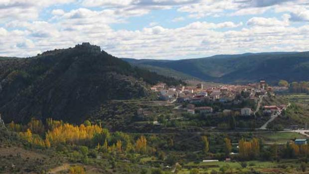 Vista de Beteta, localidad de la Serranía de Cuenca