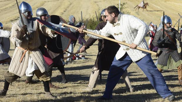 Imagen de archivo de la Batalla de Atapuerca