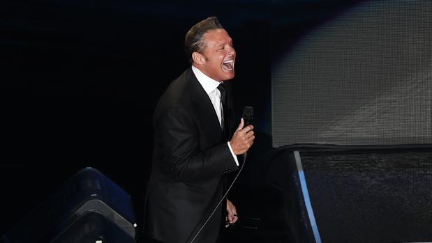 Luis Miguel, durante una actuación reciente