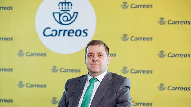 El presidente de Correos, Juan Manuel Serrano, en una fotografía tras su nombramiento