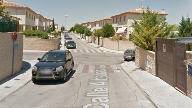 Calle Albahaca, en Ontígola, donde los cuatro delincuentes fueron arrestados por la Guardia Civil