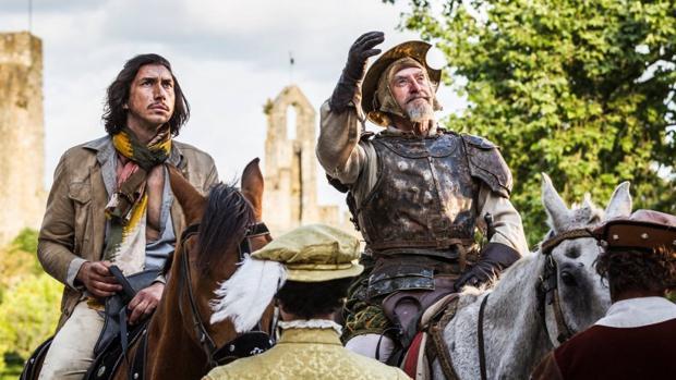 Un fotograma de «The Man Who Killed Don Quixote», de Gilliam
